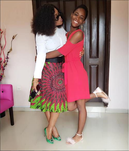 Mercy Aigbe Shares Beautiful Photos Of Her Daughter
