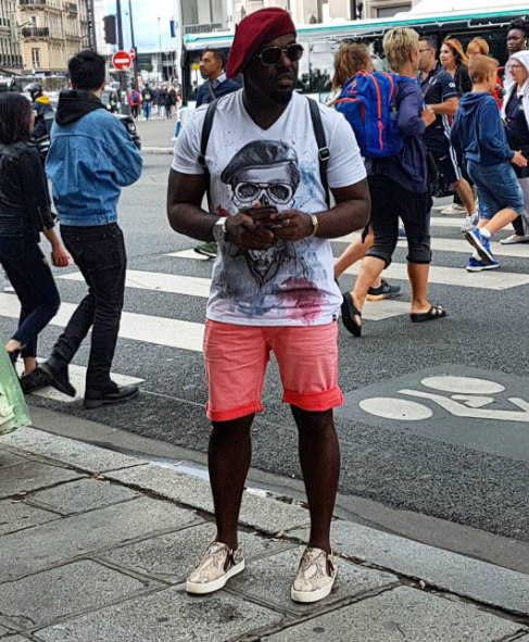 Image result for Nollywod Actor, Jim Iyke goes Gucci shopping in Paris