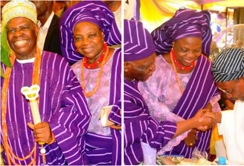 Buhari Condoles With Akande Over Wife's Death