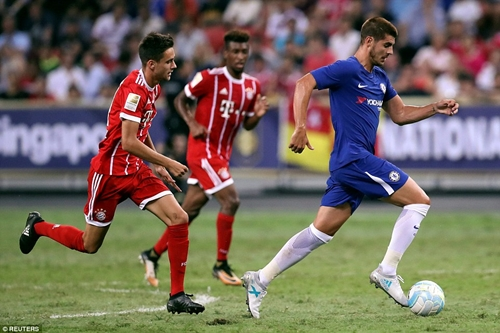 Morata Debute as Bayern Munich Defeats the Blues in Pre-season Match