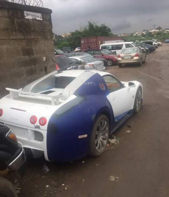 Bugatti Veyron Costing N472million Abandoned To Rot In