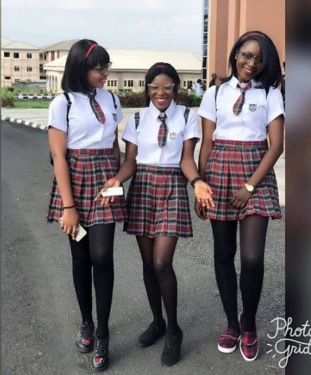 EKSU Finalist Students Recreate Korean School Mode of Dressing (Photos)