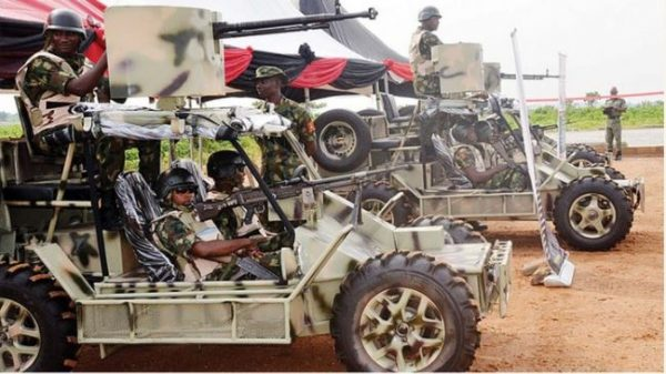 Checkout Fabricated Patrol Vehicles Launched By Nigerian