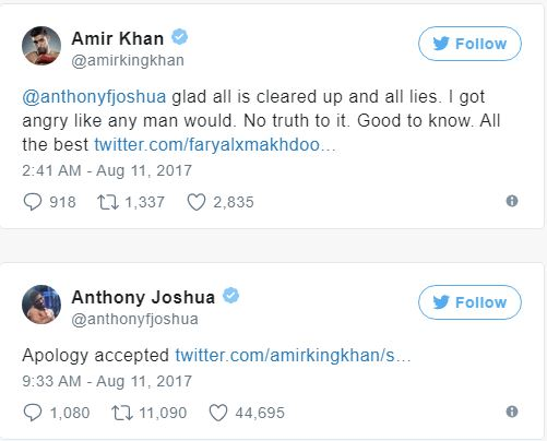 anthony joshua twitter