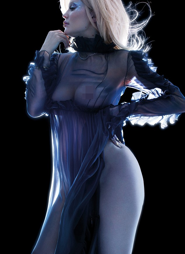 Kylie Jenner Poses Almost-unclad In 'V Magazine' Photo Shoot [Photos]