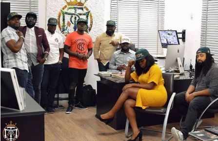 Photos:Bisola Becomes Temple Music Record Label's Its First Lady