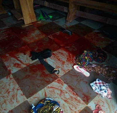 Eight dead in Nigeria church gun attack