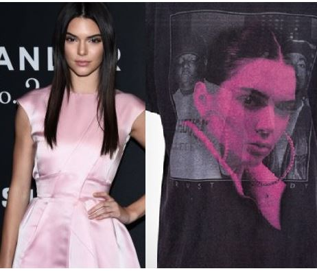 Kendall Jenner sued after using Tupac, Biggie photo on shirts