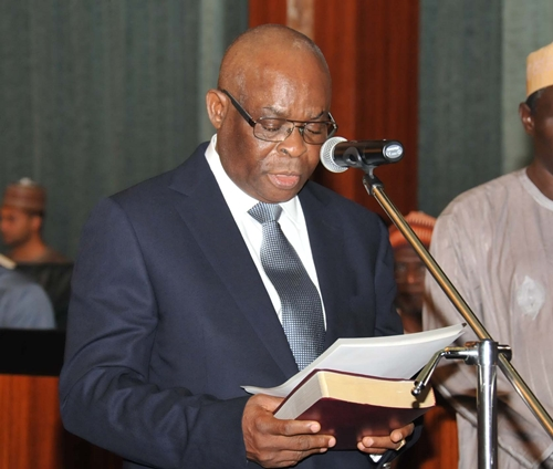 """I feel very sad… "", Osinbajo breaks silence Onnoghen"