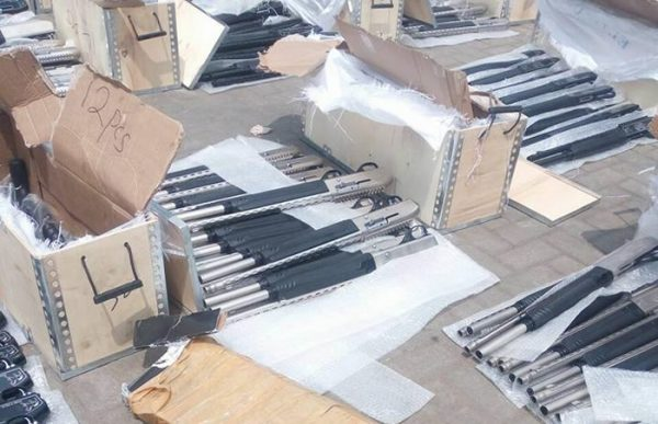 Customs Impounds Another Container Filled With Arms, Discovers Arms Syndicate in Turkey