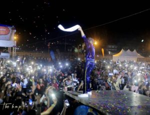 #TheRuntownExperience: Singer performs to sold-out crowd in Rwanda (Photos)
