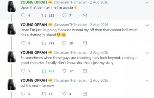 Lady Flaunts Her Ring As She Blasts All Her Ex's Didn't Marry Her Even After She Cooked For Them