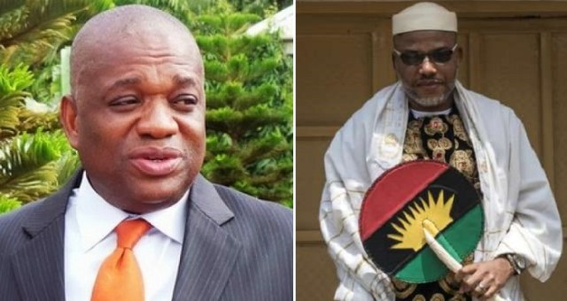 You're a drowning man, military still holding Kanu, lawyer replies Orji Kalu