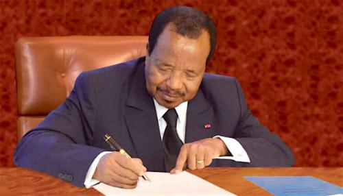 85-year Old Paul Biya to run for 7th Term as President of Cameroon