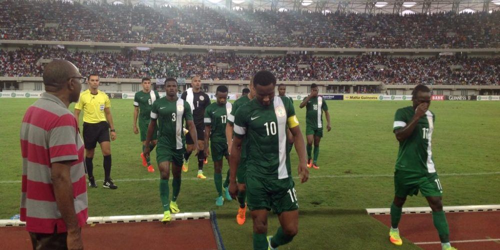 Super Eagles to play World Cup warm-up against England