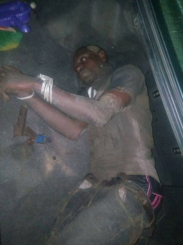 Man Caught While Attempting To Kill His Mother | Graphic Photos