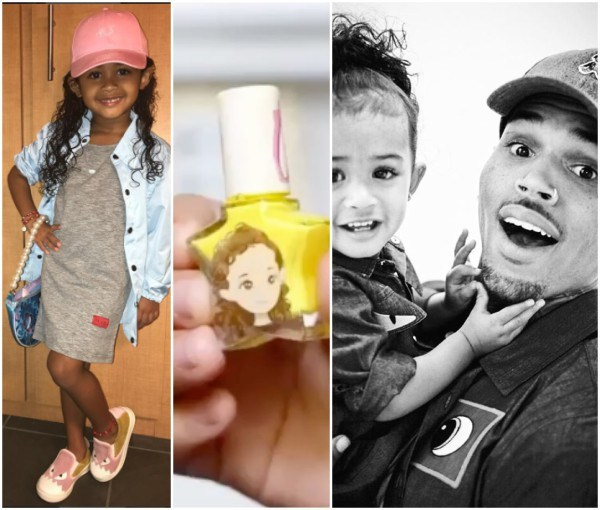 Chris Brown's daughter, Royalty launches her own cosmetics ...