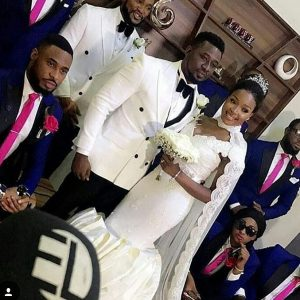 Checkout Photos From Nollywood Actor, Daniel K Daniel And Teena's White Wedding Ceremony