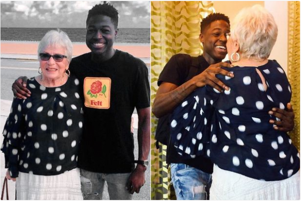 Young man meets 81-year-old he befriended on 'Words with Friends'