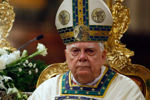 Disgraced US cardinal Bernard Law dies in Rome