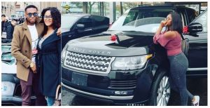 Footballer, Uche Kalu Buys His Wife A Brand New 2016 Range Rover Autobiography