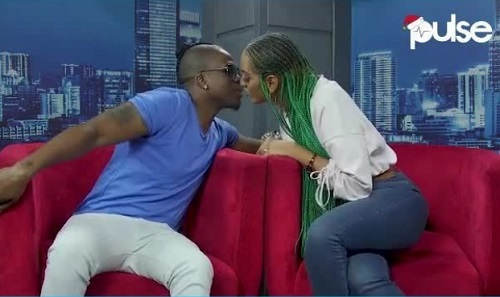 Nollywood Actress Shares Kiss With Her Rapper Lover At Live Interview | Video