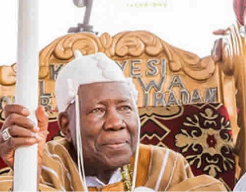 Olubadan of Ibadan loses Wife