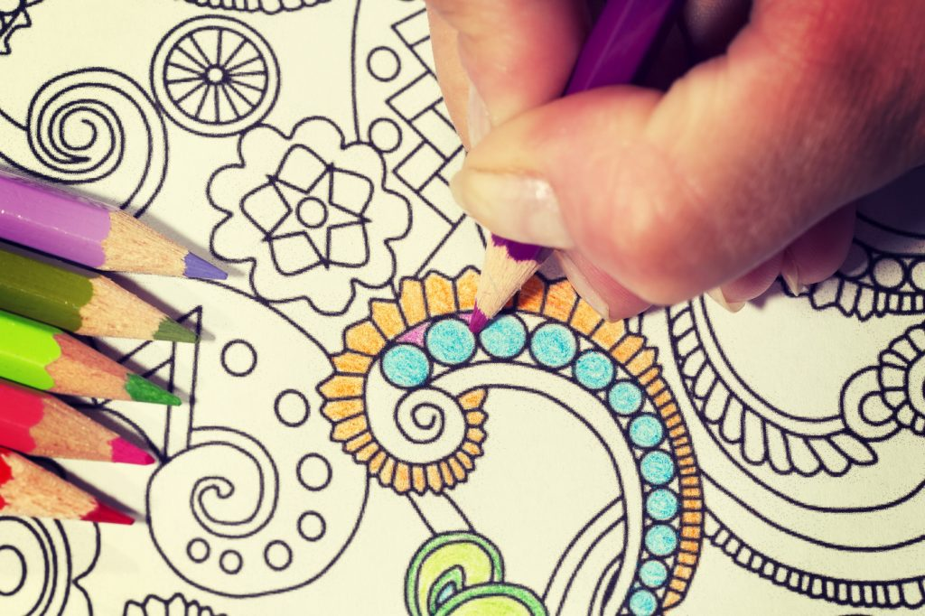 Coloring Books Relief Stress