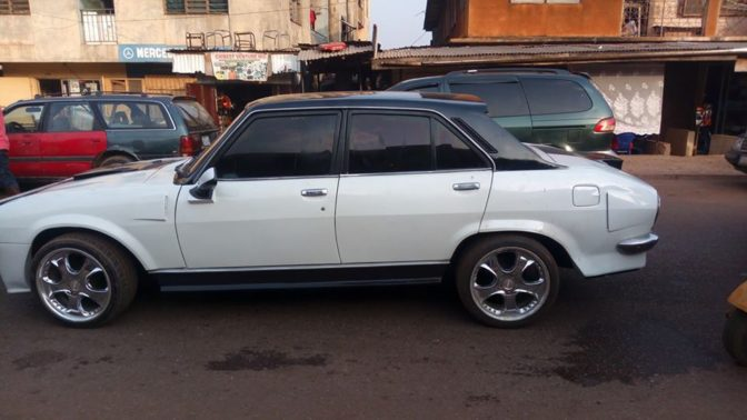 Checkout How Man Transformed An Old And Abandoned Peugeot 504 Car