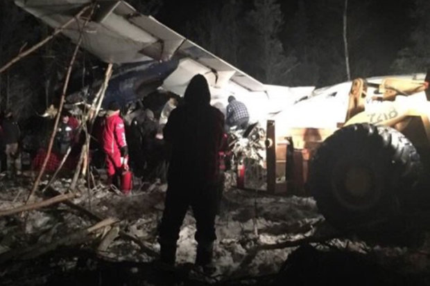 Several injured in Canada plane crash