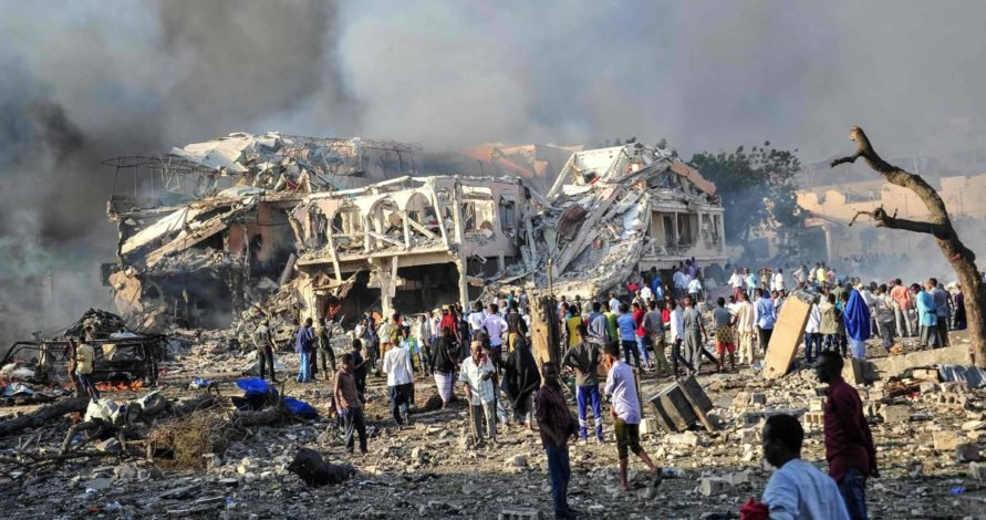 Somalia's Shabaab kill 13 police in academy bombing