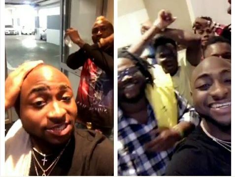 Davido And Burnaboy Pictured Hanging Out With Fellow Cult