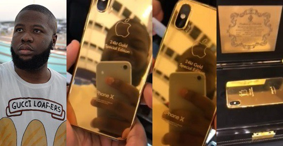 Image result for hushpuppi buys customized iphone