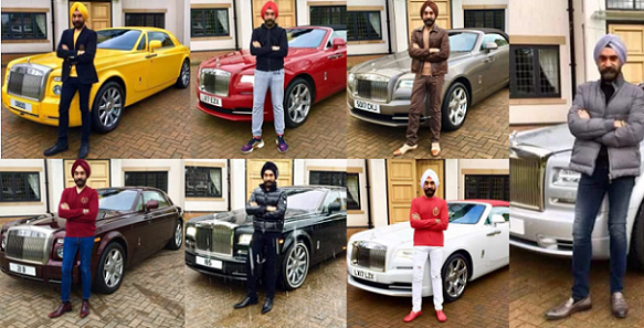 Meet Millionaire Who Matches His Rolls Royce To His Turban