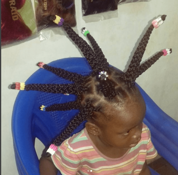 This Little Girl S Braids Has Tongues Wagging Photos
