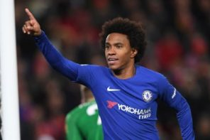 Almost A 100 Percent Europa League Campaign For The Blues As Willian Scores 10th Career Free Kicks For Chelsea