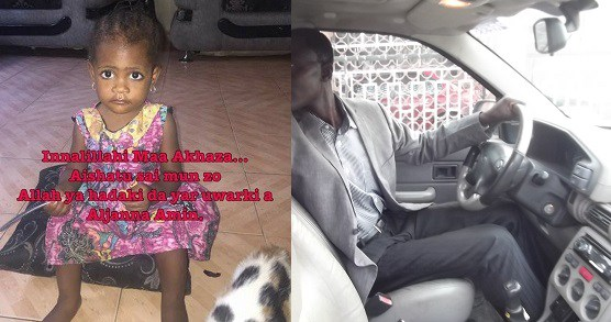 Man narrates how he mistakenly killed his daughter while reversing his car