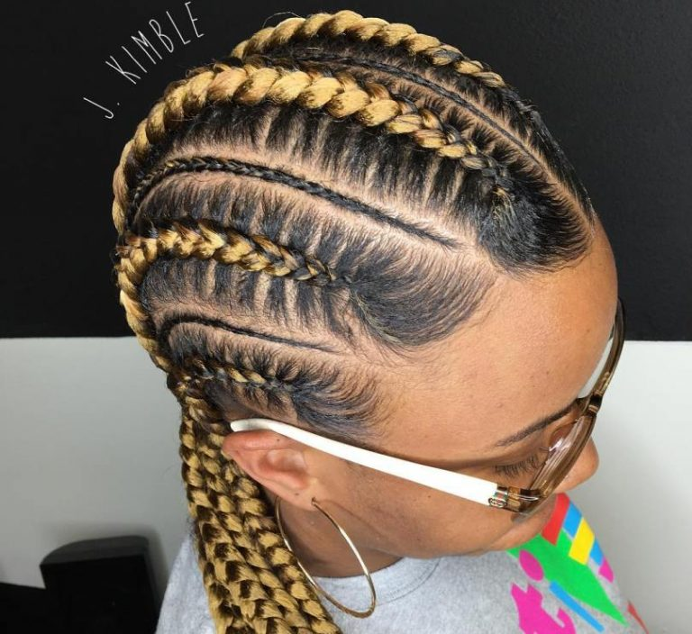 10 Ghana Weaving All Back Styles Bound To Make You The Centre Of