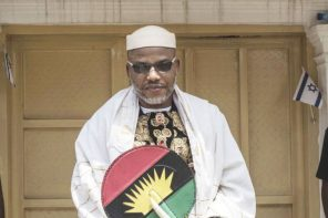 Nnamdi Kanu allegedly seen praying in Jerusalem