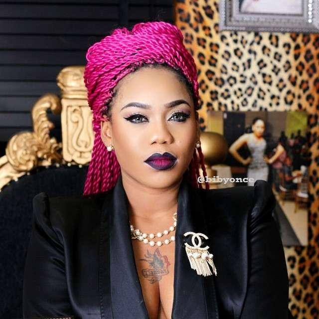 See the reply Toyin Lawani gave her mum who told her to go ...