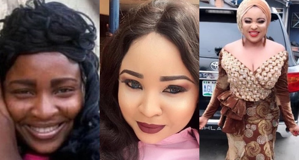 Actress Abimbola Ogunowo Before And After Bleaching