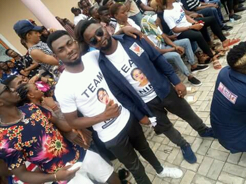 BBNaija: IMSU Students Pictured Campaigning Massively For
