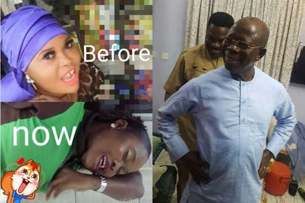 """""""Bleaching is sin"""" – Slay Mama Says As She Returns Back To Her Dark Skin After Initially Bleaching (Photos)"""