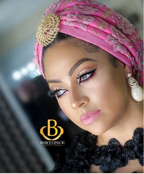 Peter Okoye's Wife, Lola looks...