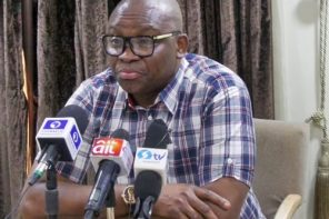 #EkitiPolls: Fayose 'allegedly' books a plane ticket to Paris to avoid jail – Presidential aide