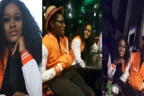 #BBNaija: Cee-C & Tobi pictured talking to each other for the first time since after the house, Nigerians react (Photos)