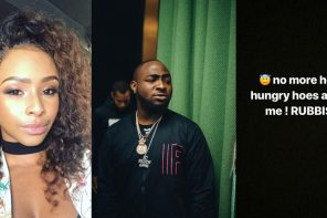 Davido reacts to claims that his sexual advances to Boity caused their fight in Zimbabwe