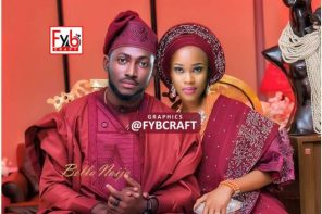 #BBNaija: Photoshopped Wedding Picture Of Miracle And Cee-C Emerges