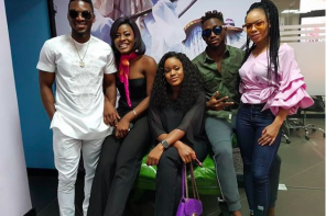 Be Honest: #BBNaija – Which 'Double Wahala' Housemate, Cee-C, Tobi, Alex, Nina or Miracle Rocked the T-shirt Look Better???