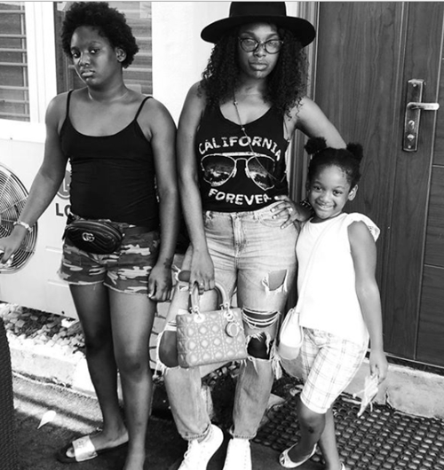 Annie And 2Face Idibias First Daughter Isabella Is So Grown Photos